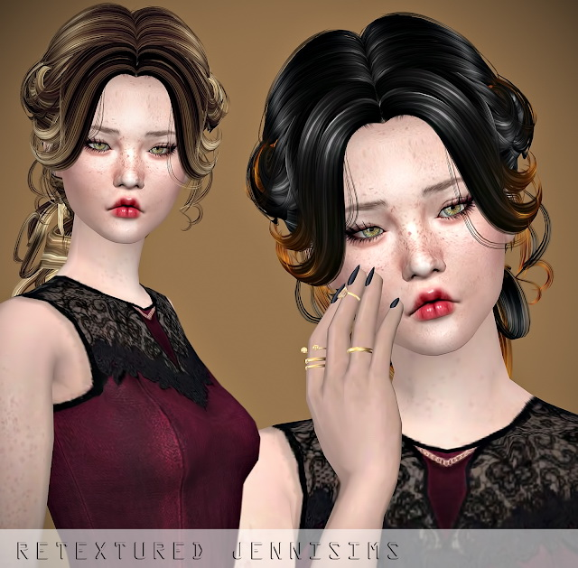 Newsea Lenox Hair retexture at Jenni Sims image 1067 Sims 4 Updates