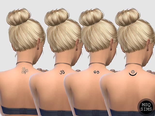 Symbol Tattoos at MSQ Sims image 10710 Sims 4 Updates