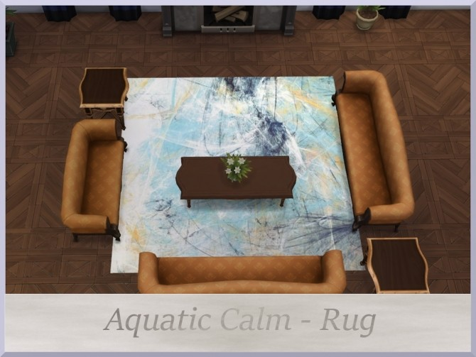 Sims 4 Aquatic Calm Set by augold44 at Mod The Sims