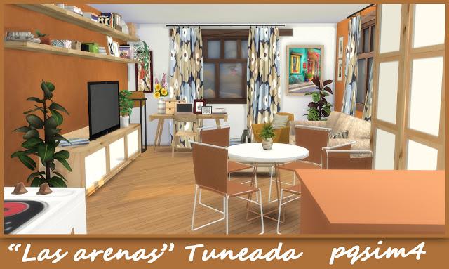 Sims 4 Las Arenas house at pqSims4
