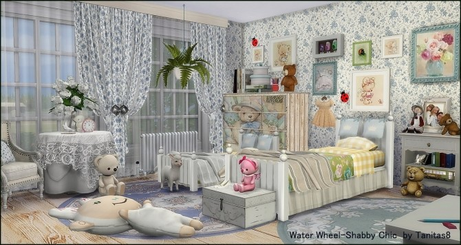 Water Wheel Shabby Chic at Tanitas8 Sims image 1086 670x356 Sims 4 Updates
