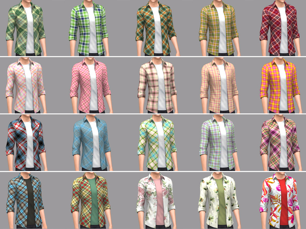 Male top by WistfulCastle at TSR image 1090 Sims 4 Updates