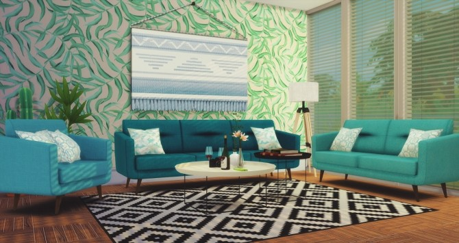 Comfort Zone   Loveseats, Sofas, Living Chairs at Pyszny Design image 1095 670x355 Sims 4 Updates