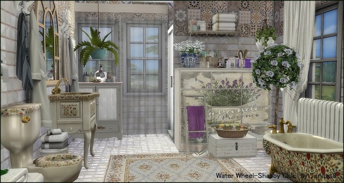 Water Wheel Shabby Chic at Tanitas8 Sims image 11010 670x356 Sims 4 Updates