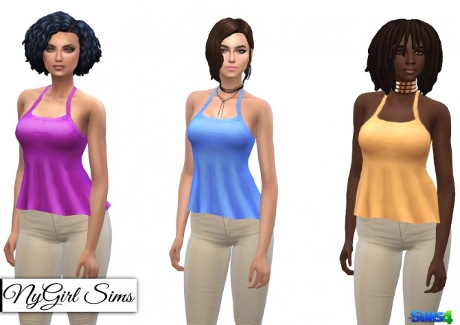 Ruffled Asymmetrical Tank at NyGirl Sims image 11011 670x473 Sims 4 Updates