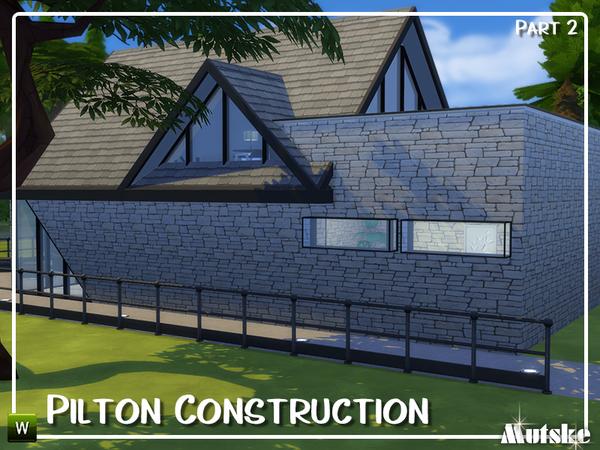 Sims 4 Pilton Construction set Part 2 by mutske at TSR