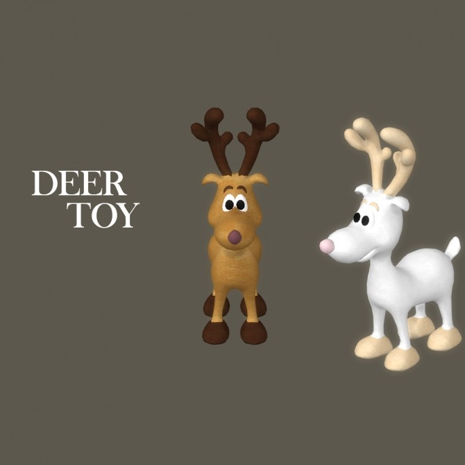 Toy Deer at Leo Sims image 11020 670x670 Sims 4 Updates