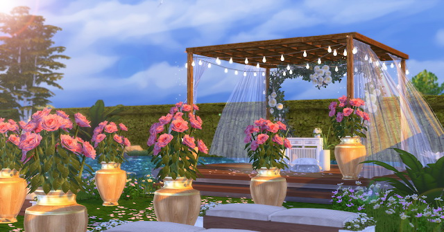 Sims 4 Wedding Venue at Lily Sims