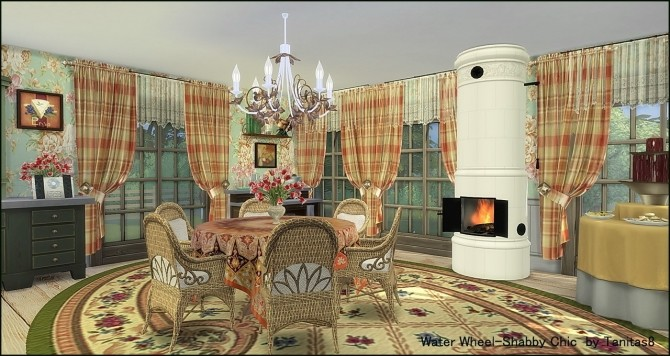 Water Wheel Shabby Chic at Tanitas8 Sims image 11111 670x356 Sims 4 Updates