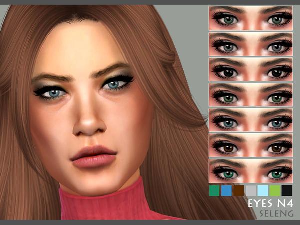 Sims 4 Eyes N4 by Seleng at TSR