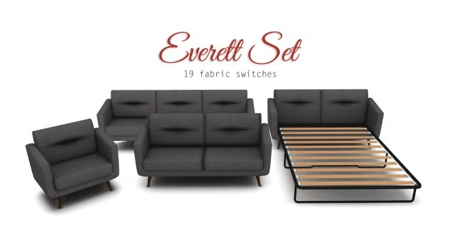 Comfort Zone   Loveseats, Sofas, Living Chairs at Pyszny Design image 112 p01 670x355 Sims 4 Updates