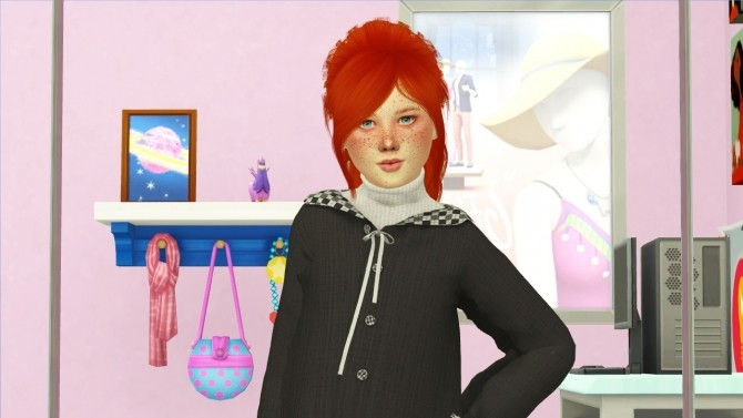 LEAH LILLITH JEN HAIR KIDS AND TODDLER VERSION by Thiago Mitchell at REDHEADSIMS image 1134 670x377 Sims 4 Updates