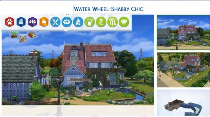 Water Wheel Shabby Chic at Tanitas8 Sims image 1136 670x376 Sims 4 Updates