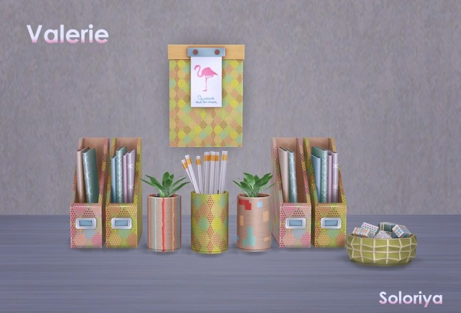 Valerie set clutter (P) at Soloriya image 11413 670x456 Sims 4 Updates