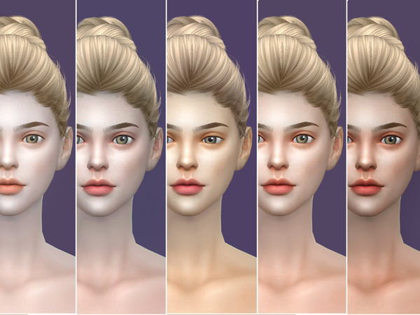 Sims 4 COLOURS skintones 1.0 by S Club WMLL at TSR