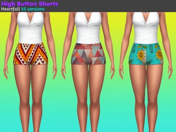 Sims 4 Big button shirts at Heartfall