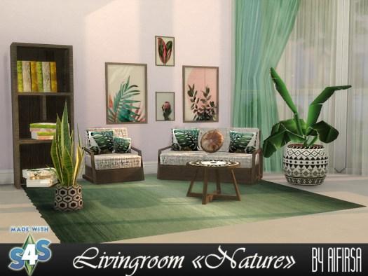 Sims 4 Living room at Aifirsa