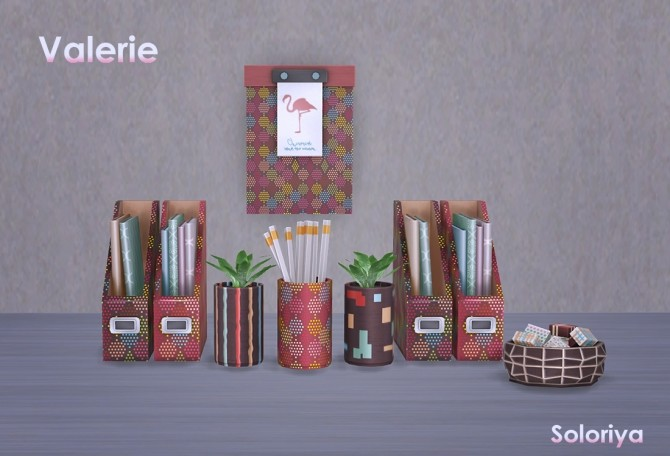 Valerie set clutter (P) at Soloriya image 11713 670x456 Sims 4 Updates