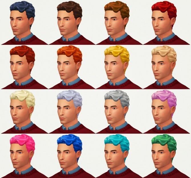 Sims 4 Brent hair at KotCatMeow