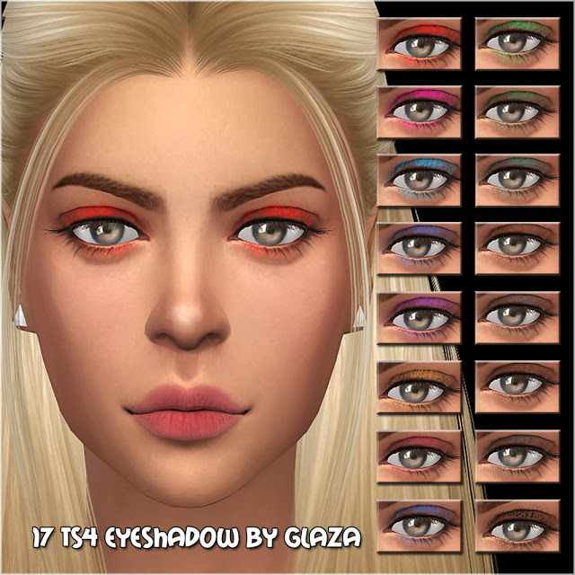 Eyeshadow #17 at All by Glaza image 11912 Sims 4 Updates