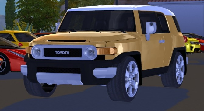 2012 Toyota FJ Cruiser at Tyler Winston Cars image 1196 670x365 Sims 4 Updates