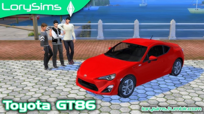 Toyota GT86 at LorySims image 1201 670x377 Sims 4 Updates