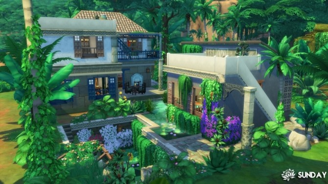 Casa Bella Amazon by SundaySims at Sims Artists image 1205 670x377 Sims 4 Updates