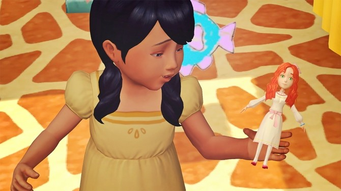 Little Ginger Doll at Josie Simblr image 1209 670x377 Sims 4 Updates