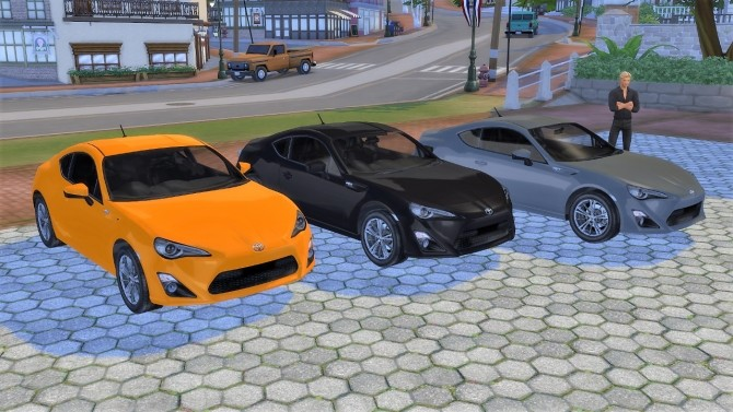 Toyota GT86 at LorySims image 1211 670x377 Sims 4 Updates