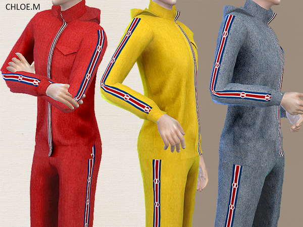 Sports Hoodie and shorts male by ChloeMMM at TSR image 1220 Sims 4 Updates