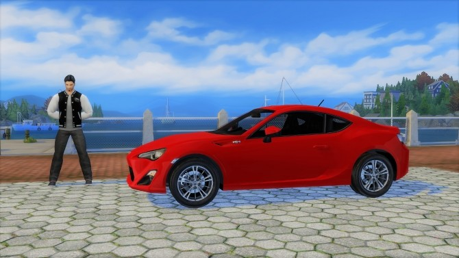 Toyota GT86 at LorySims image 1221 670x377 Sims 4 Updates