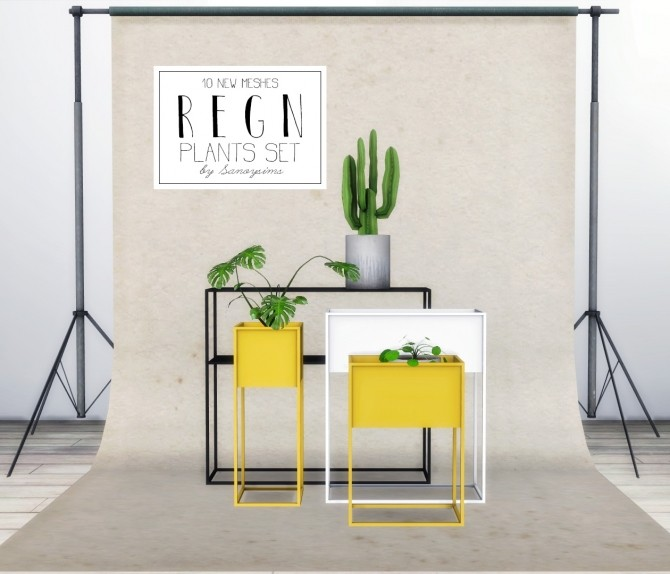 Regn plants set at Sanoy Sims image 12213 670x574 Sims 4 Updates