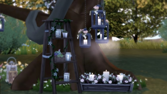 Sims 4 Meadow of Matrimony Preview Set for Rustic Romance at The Plumbob Tea Society