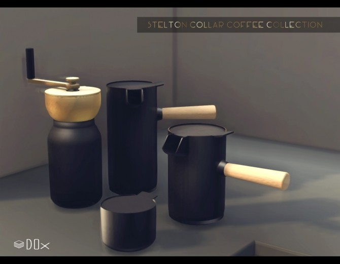 Sims 4 Coffee Collection Set at DOX