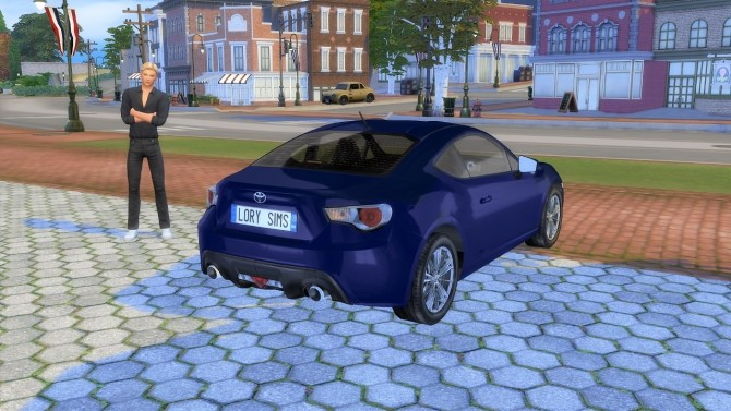 Toyota GT86 at LorySims image 1231 670x377 Sims 4 Updates
