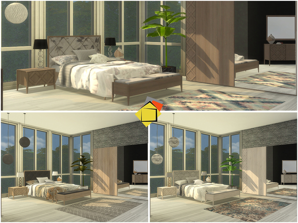 Alessa Bedroom by Onyxium at TSR image 1240 Sims 4 Updates