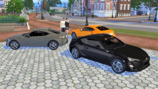 Toyota GT86 at LorySims image 1251 670x377 Sims 4 Updates