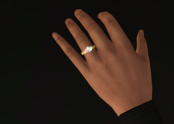 Double Heart Shape Ring At Rusty Nail 187 Sims 4 Updates
