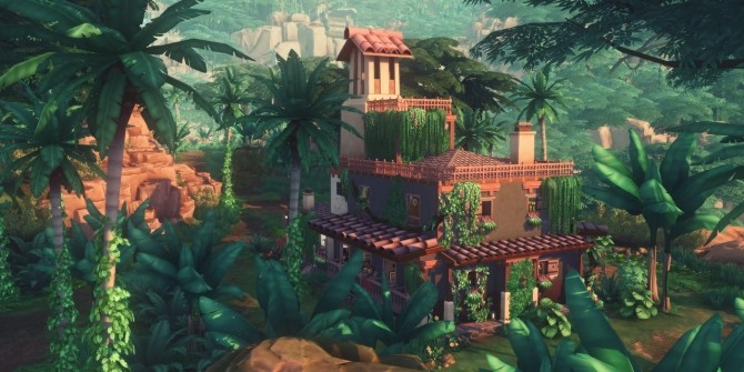 Sims 4 BELOMISIA FIELD STATION at Picture Amoebae