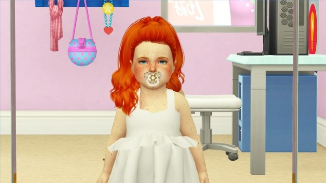Sims 4 TOKSIK JEALOUSY HAIR KIDS AND TODDLER VERSION at REDHEADSIMS