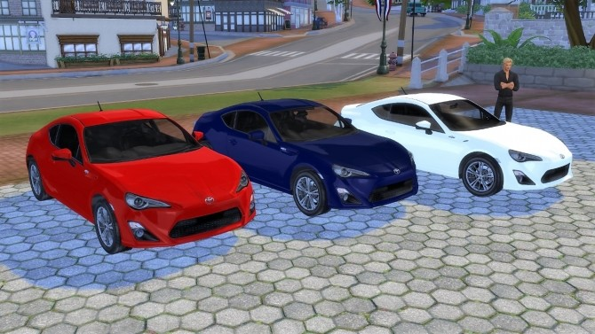 Toyota GT86 at LorySims image 1261 670x377 Sims 4 Updates