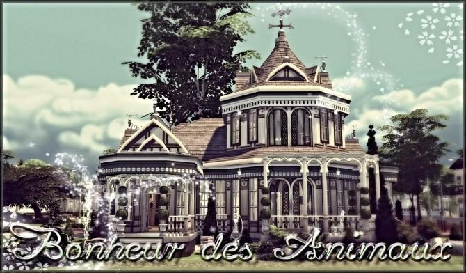 Sims 4 Bonheur des Animaux Veterinary clinic at Petka Falcora