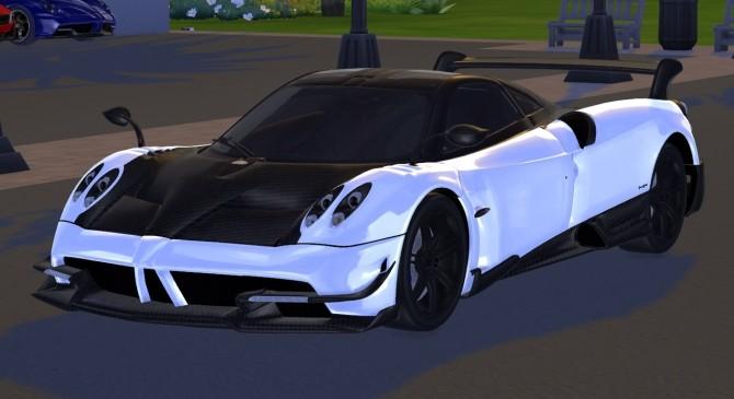 Sims 4 2016 Pagani Huayra BC at Tyler Winston Cars