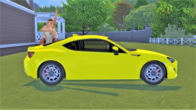 Subaru BRZ at LorySims image 1281 670x377 Sims 4 Updates
