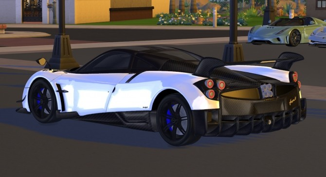 2016 Pagani Huayra BC at Tyler Winston Cars image 1286 670x365 Sims 4 Updates