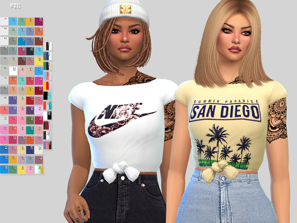 Paper Towns T shirt by Pinkzombiecupcakes at TSR image 1310 Sims 4 Updates