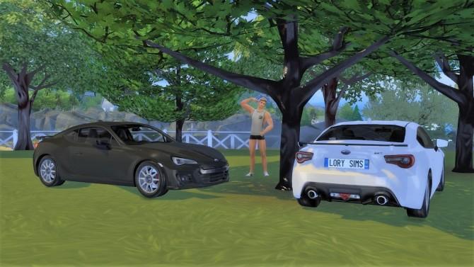 Subaru BRZ at LorySims image 1311 670x377 Sims 4 Updates