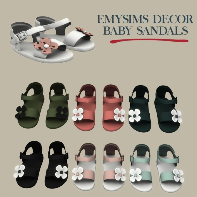 Decor Baby Sandals at Leo Sims image 13111 670x670 Sims 4 Updates