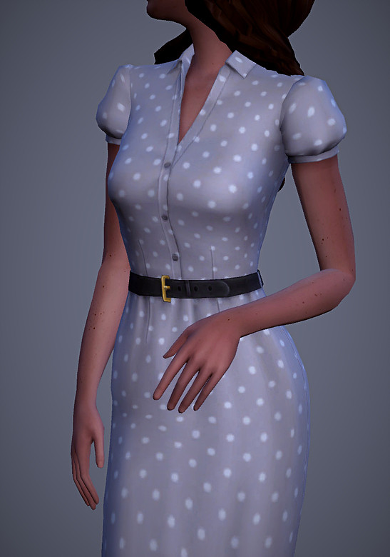 Charlotte Dress at Magnolian Farewell image 1323 Sims 4 Updates