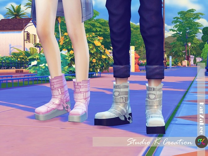 Short boots N5 at Studio K Creation image 1325 670x502 Sims 4 Updates